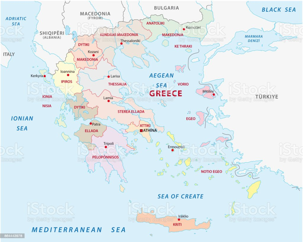 Political Map Greece Images Greece Political Map I Maps - Political map of greece