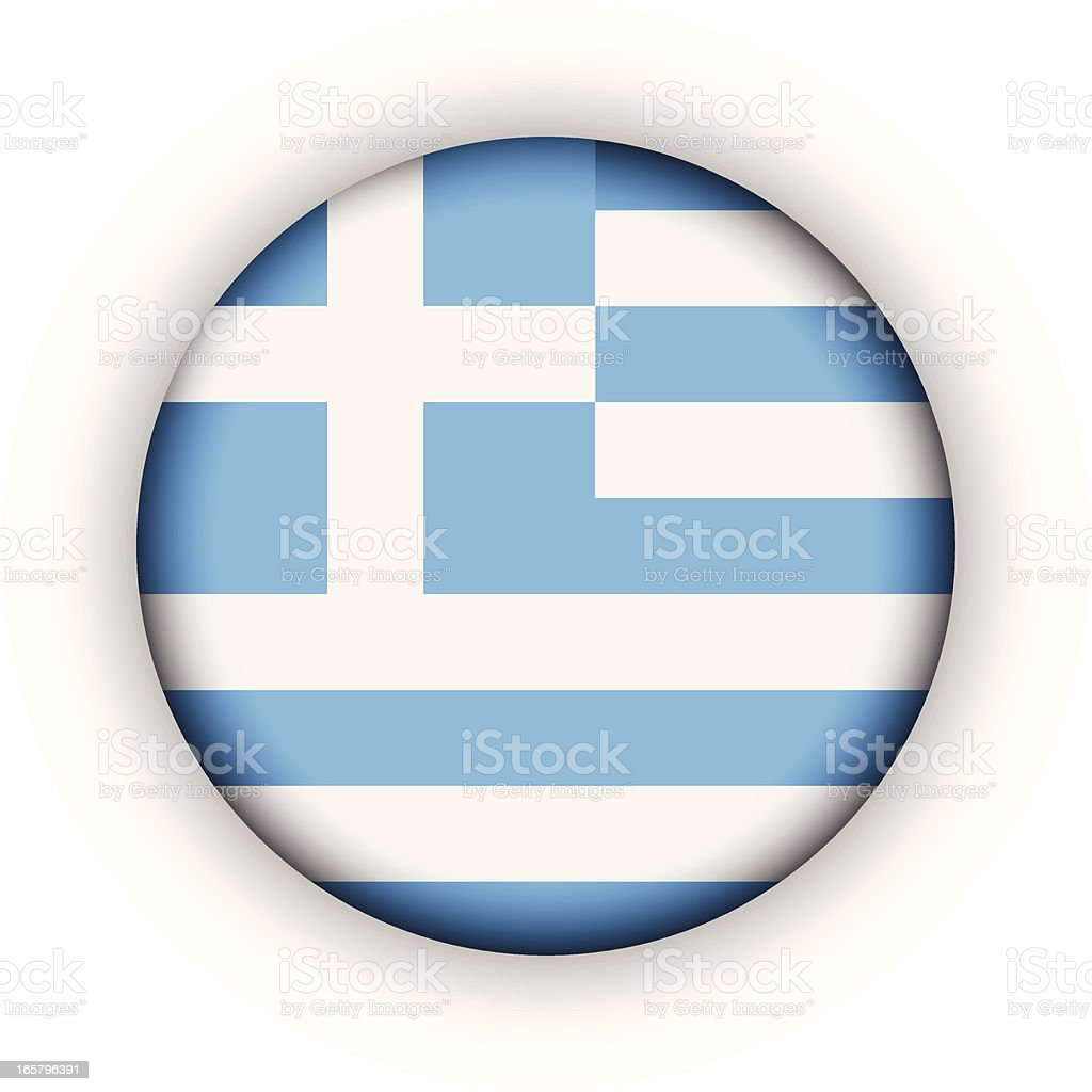 Greece Badge vector art illustration