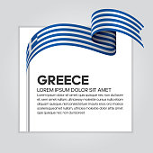 Greece, flag, country, culture, background, vector