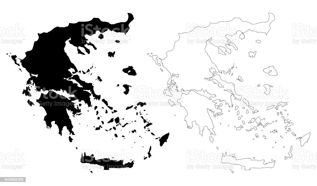 Greece map vector stock vector art more images of abstract greece map vector royalty free greece map vector stock vector art amp more images gumiabroncs Images