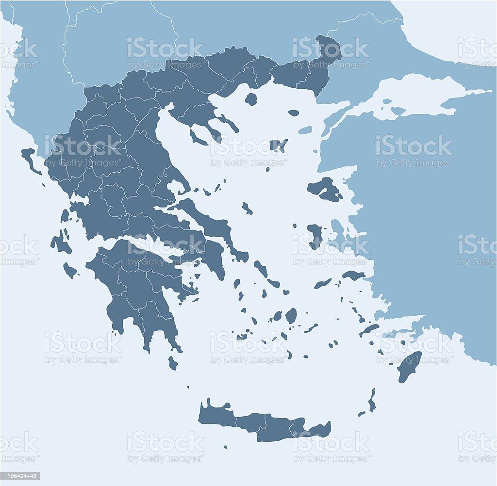 Greece royalty-free stock vector art