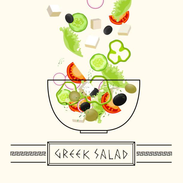 ilustrações de stock, clip art, desenhos animados e ícones de grego a culinária imagem - mediterranean food