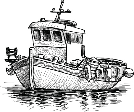 Download Fishing Boat Vector Free Ai Svg And Eps