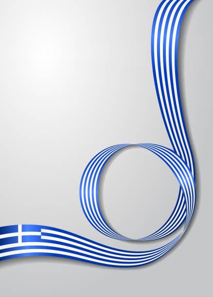Griechische Flagge Vektorgrafiken und Illustrationen - iStock