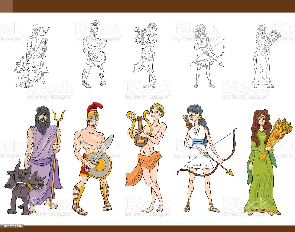 royalty free greek gods clip art vector images illustrations istock rh istockphoto com apollo greek god clipart apollo greek god clipart