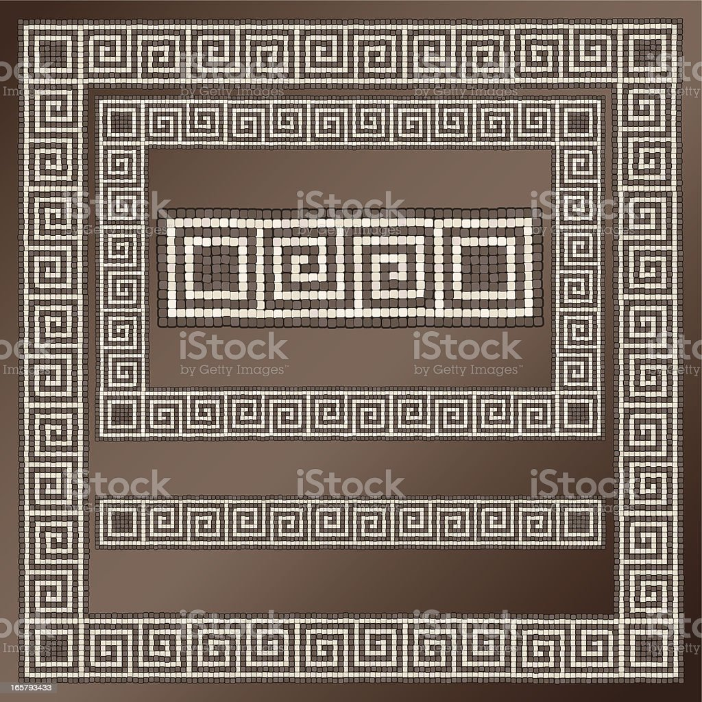 Greek Key Design royalty-free stock vector art