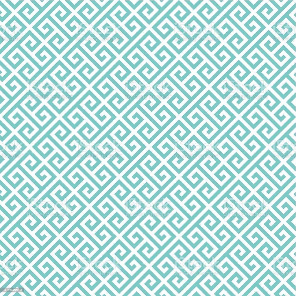 Greek key pattern background. Vintage vector pattern. vector art illustration