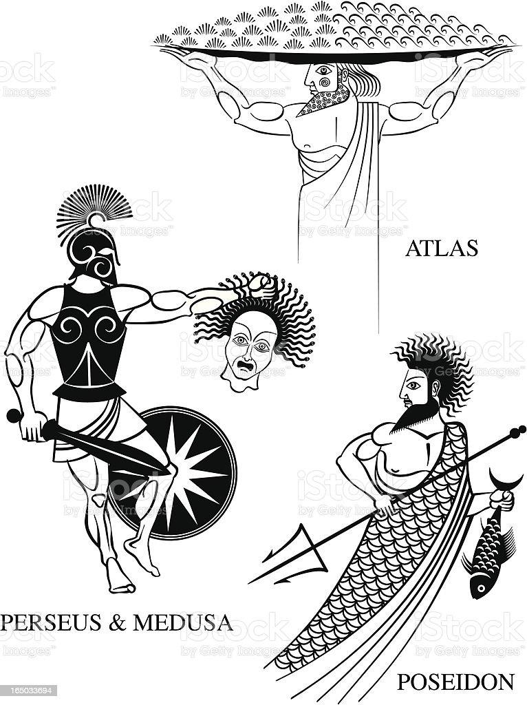 Greek Mythology 1 royalty-free greek mythology 1 stock vector art & more images of animal scale