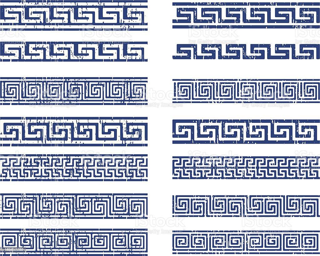 greek ornament vector art illustration