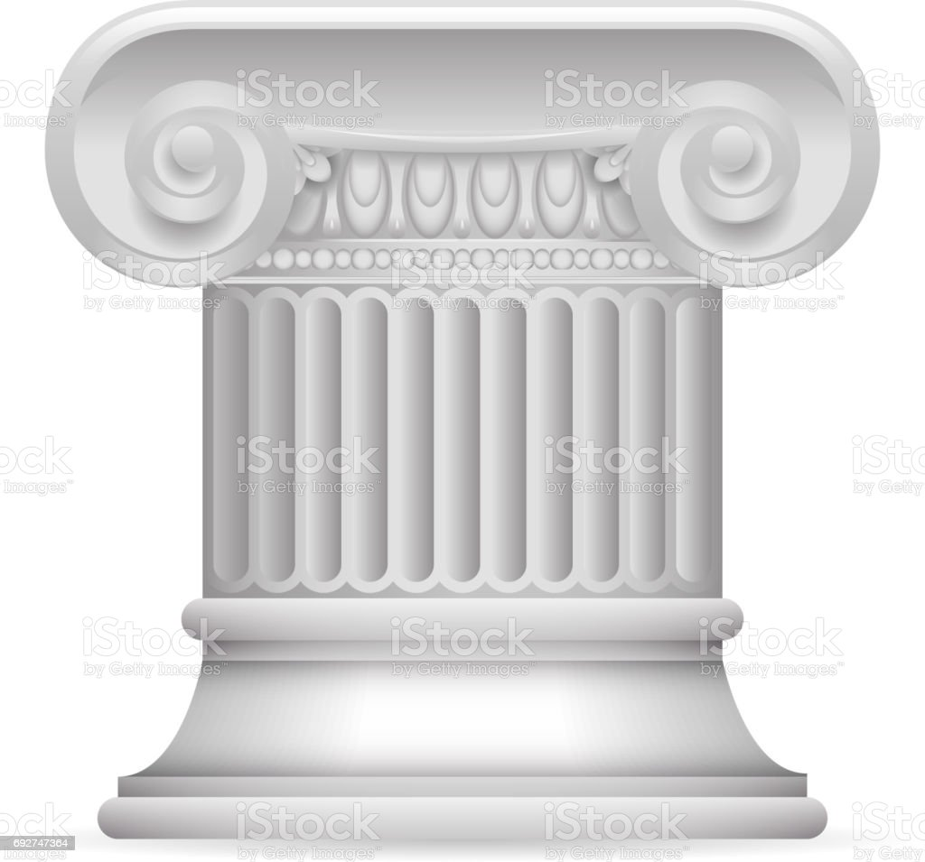 column drawing fish pillar columns ruins roman ornament awesome architecture pedestal tank greek interior ancient tattoo types aquarium clipart