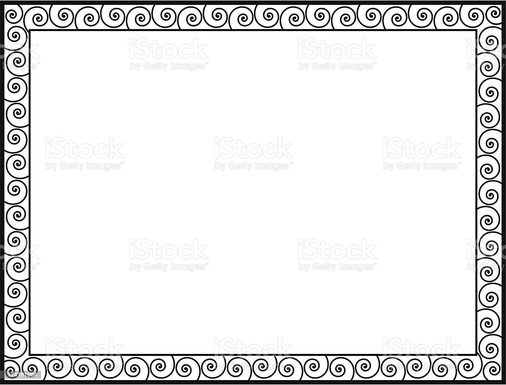 Greek style black ornamental decorative frame royalty-free greek style black ornamental decorative frame stock vector art & more images of abstract
