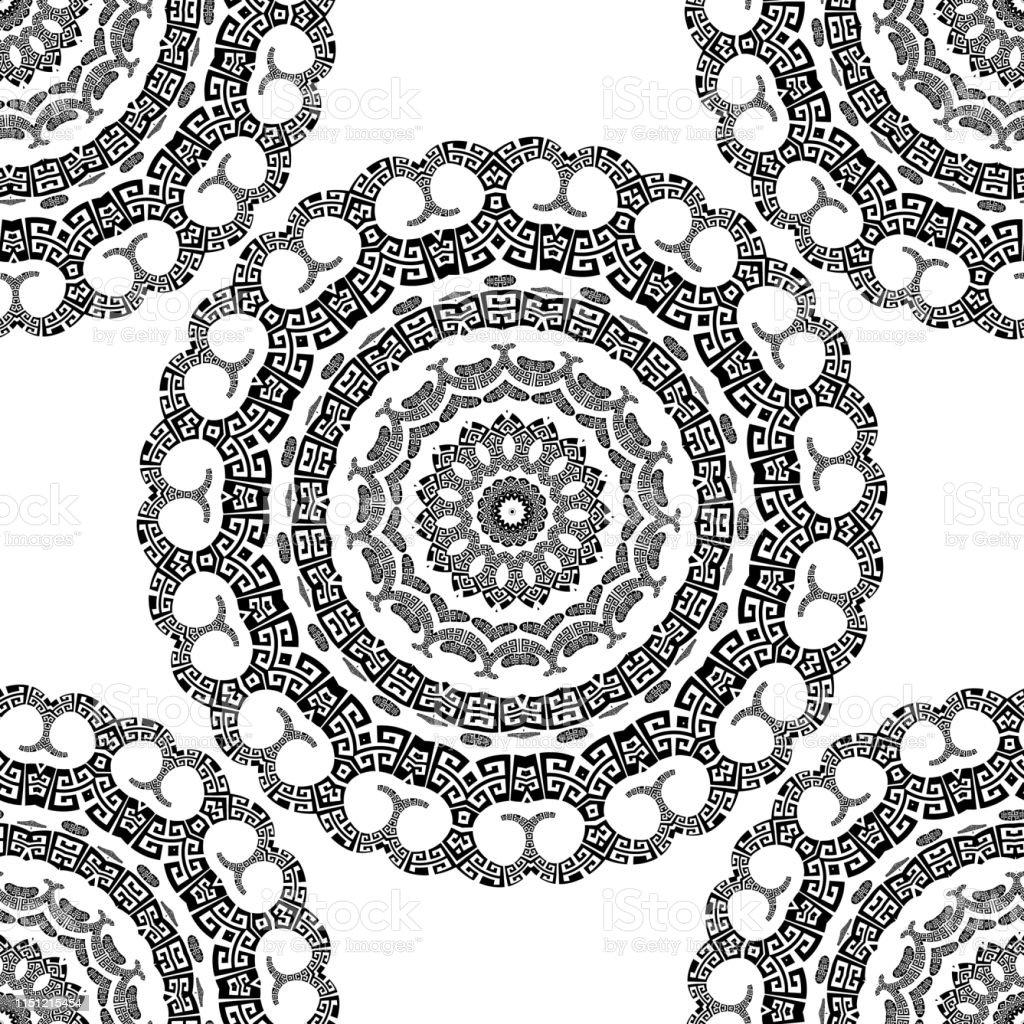 mandala geometrische formen  ausmalbilder