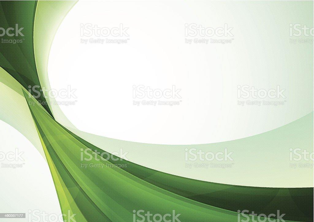 Green Abstract Background vector art illustration