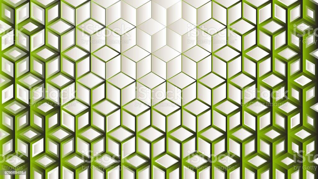 Yeşil Arka Plan Stok Vektör Sanatı Altıgennin Daha Fazla Görseli