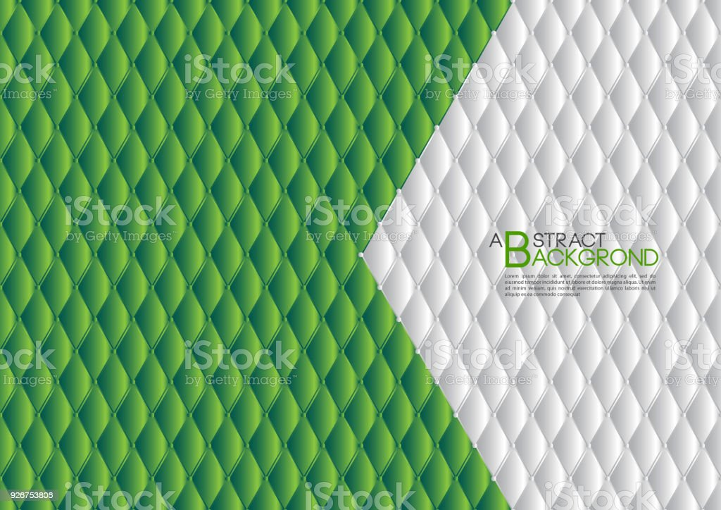 Green abstract background vector illustration cover template layout green abstract background vector illustration cover template layout business flyer leather texture luxury reheart Choice Image