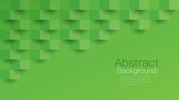 stockillustraties, clipart, cartoons en iconen met groene abstracte achtergrond vector. - green background