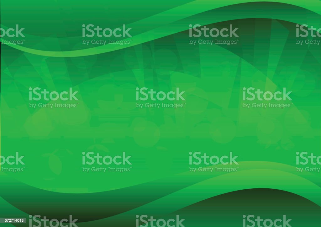 Green abstract background vector vector art illustration