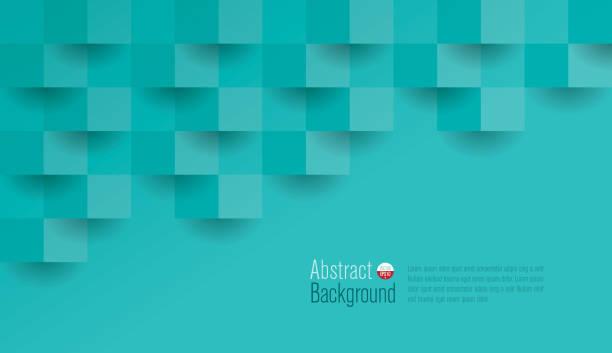 Fondo abstracto verde vector. - ilustración de arte vectorial