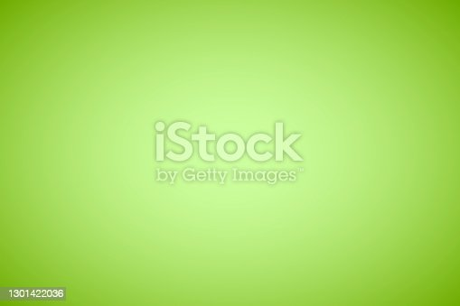 istock Green abstract gradient background 1301422036