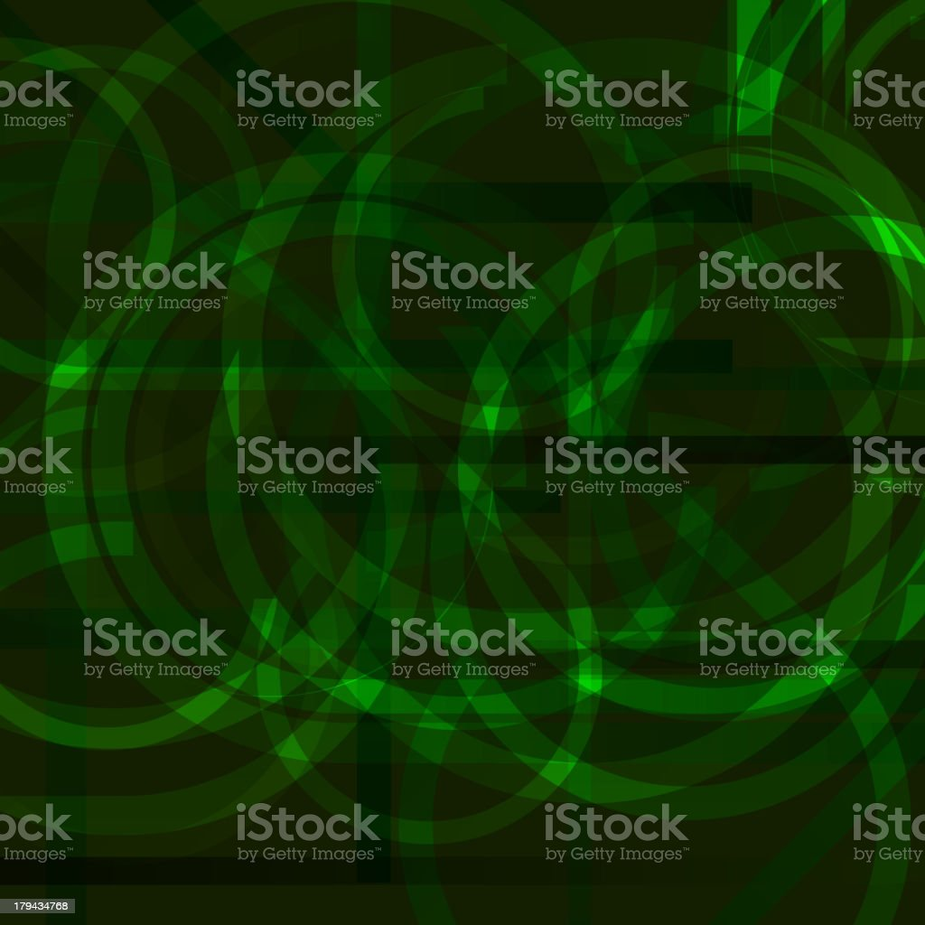 green abstract technology background royalty-free stock vector art