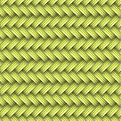green ahd yellow wicker