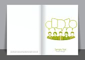 Green and People Cover design