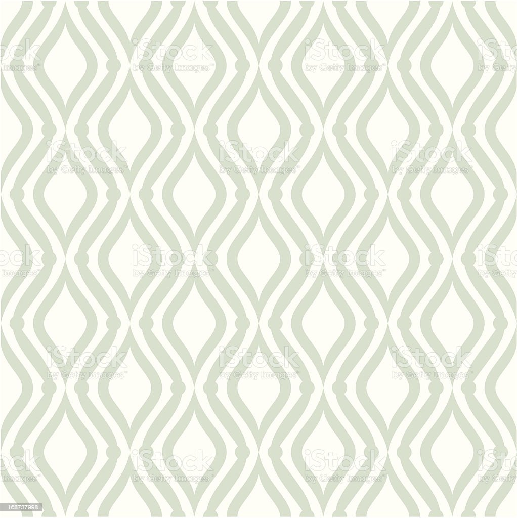 Green and white seamless patterns royalty-free stock vector art