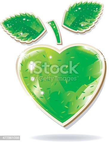 istock green apple jewelry with confettiglister. 472361035