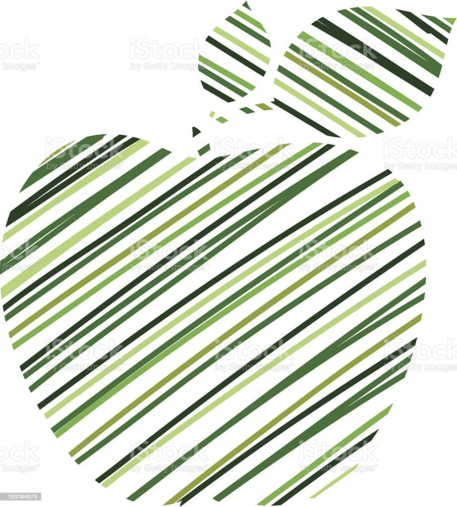 Green apple vector background royalty-free green apple vector background stock vector art & more images of abstract