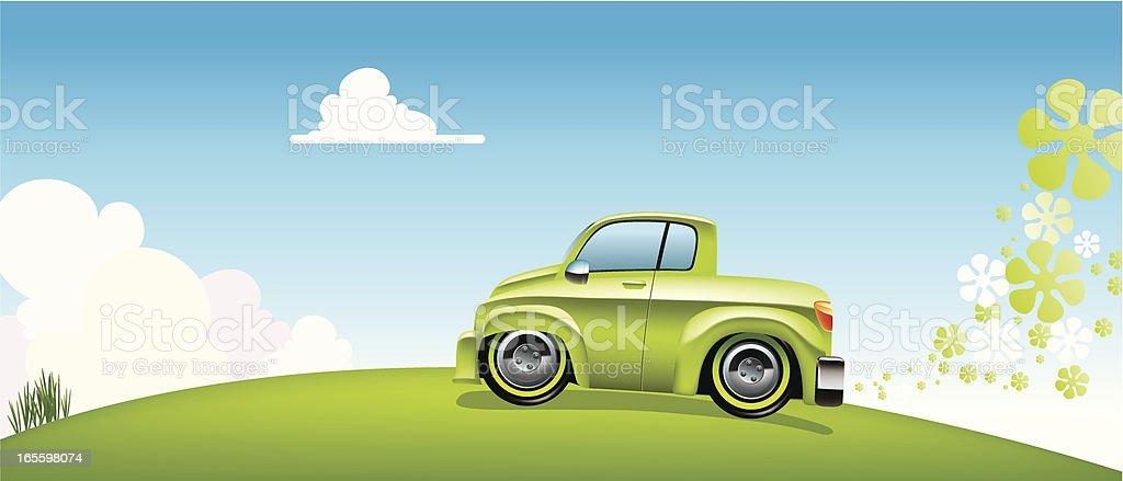 Verde de automóviles ilustración de verde de automóviles y más banco de imágenes de ajardinado libre de derechos