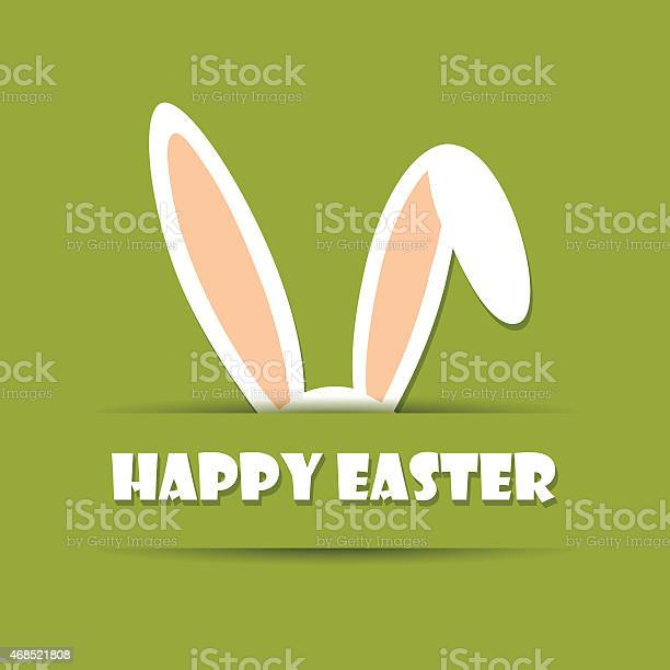 Green background with happy easter in white with ears vector id468521808?b=1&k=6&m=468521808&s=612x612&h=c1qhbfdz jnliftqsctcce6fyqgnadwyuffluj5tsgs=