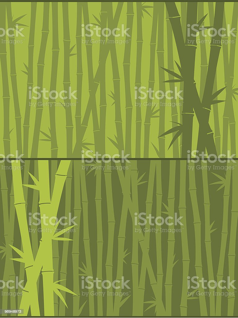 Green bamboo background royalty-free green bamboo background stock vector art & more images of backgrounds