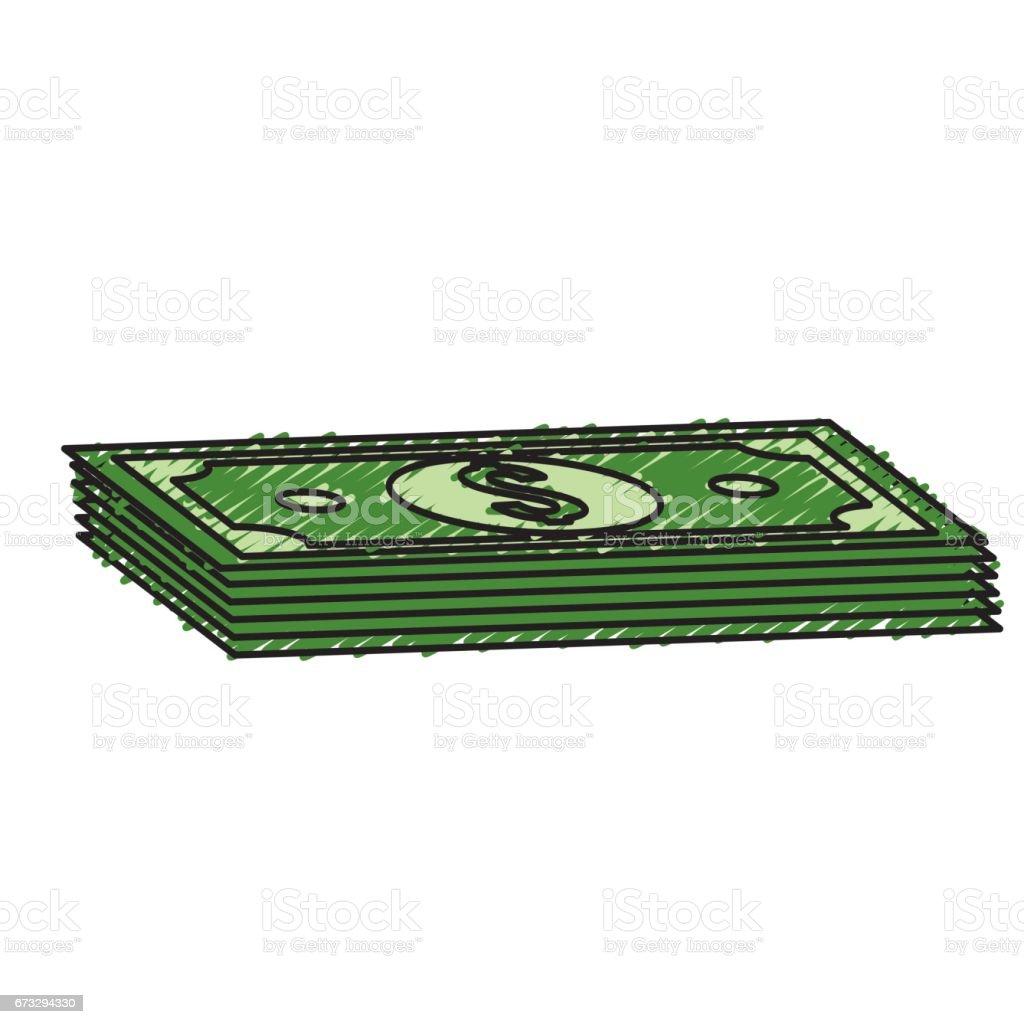 green bills dolar money royalty-free green bills dolar money stock vector art & more images of accountancy