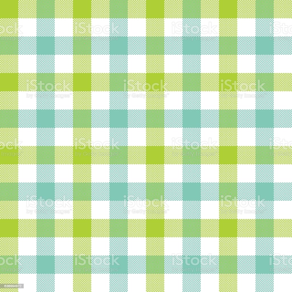 Green Blue Check Tablecloth Seamless Pattern Royalty Free Green Blue Check  Tablecloth Seamless Pattern Stock
