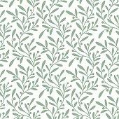 istock Green Branch. Seamless Pattern. 472116322