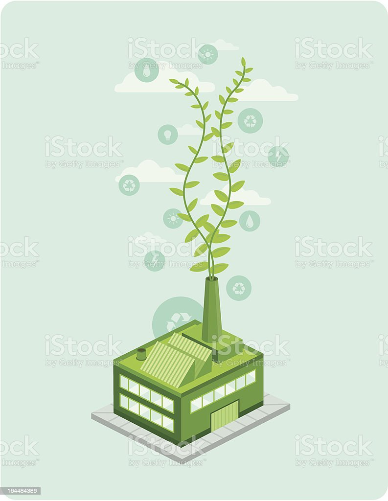 Green Business royalty-free stock vector art