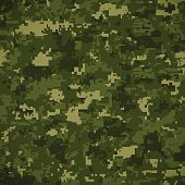 Green Camoflage Pattern