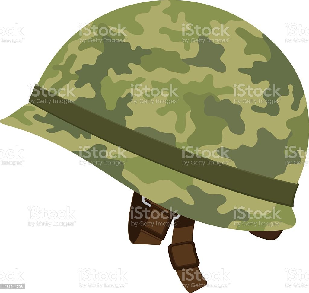 Army helmet clip art black and white