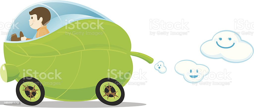 Green Car royalty-free green car stock vector art & more images of alternative energy