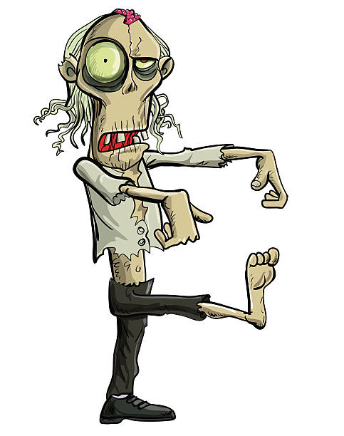 Royalty Free Zombie Clip Art, Vector Images ...