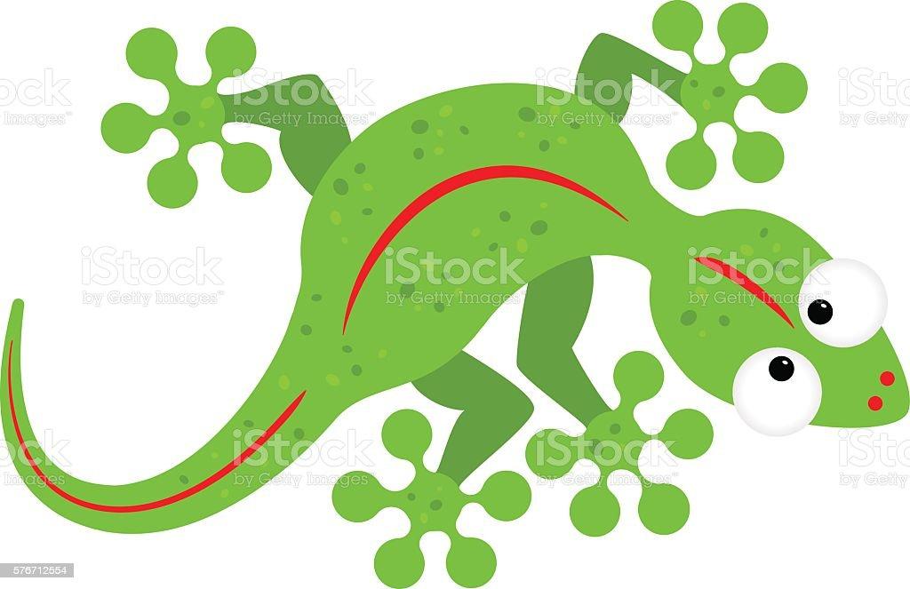 royalty free green gecko clip art vector images illustrations rh istockphoto com gecko clip art free gecko clipart images