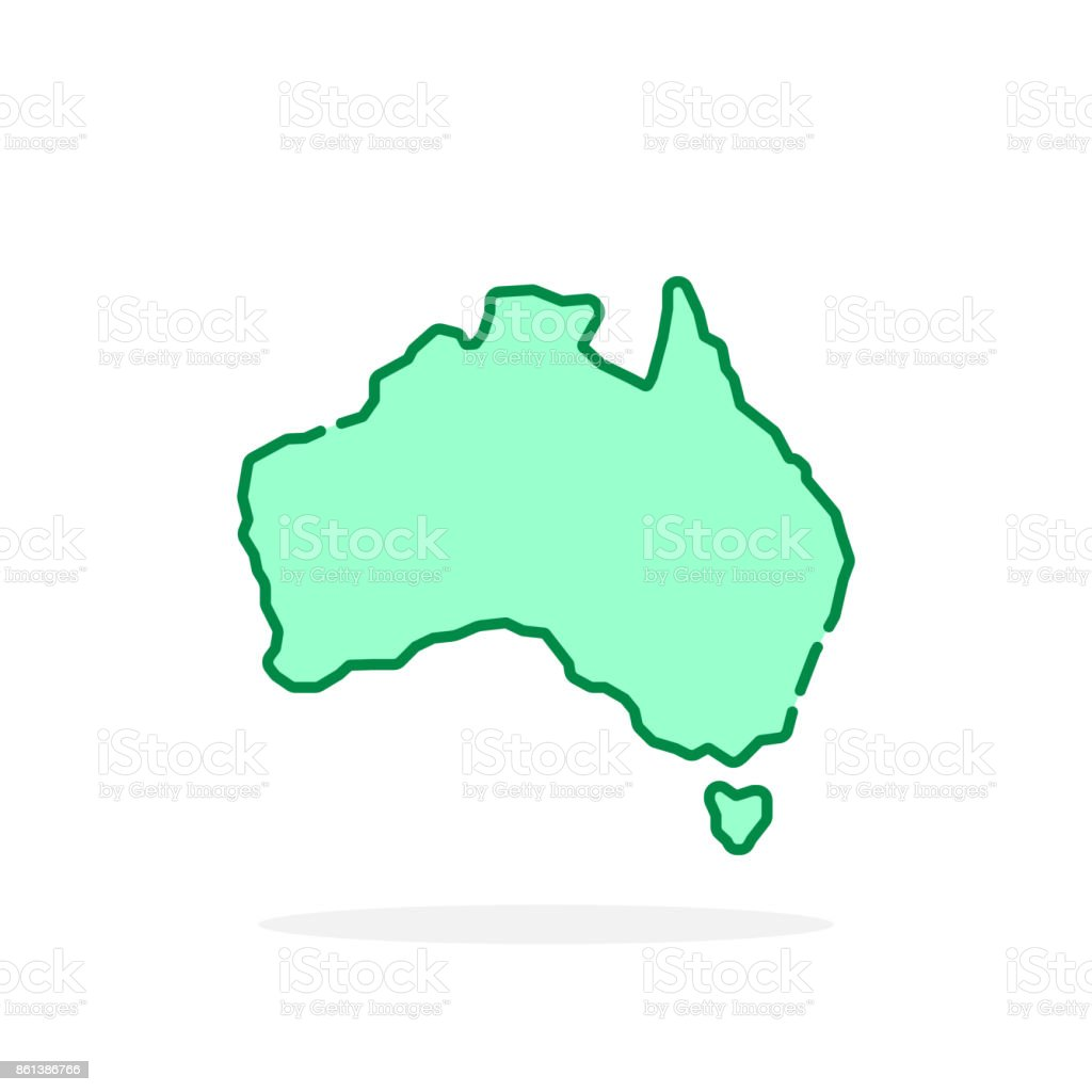 Green cartoon thin line australia icon stock vector art more green cartoon thin line australia icon royalty free green cartoon thin line australia icon stock gumiabroncs Image collections