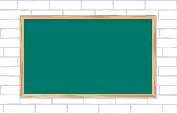 Modern Classroom Clipart ~ Royalty free interior poster of modern classroom clip art