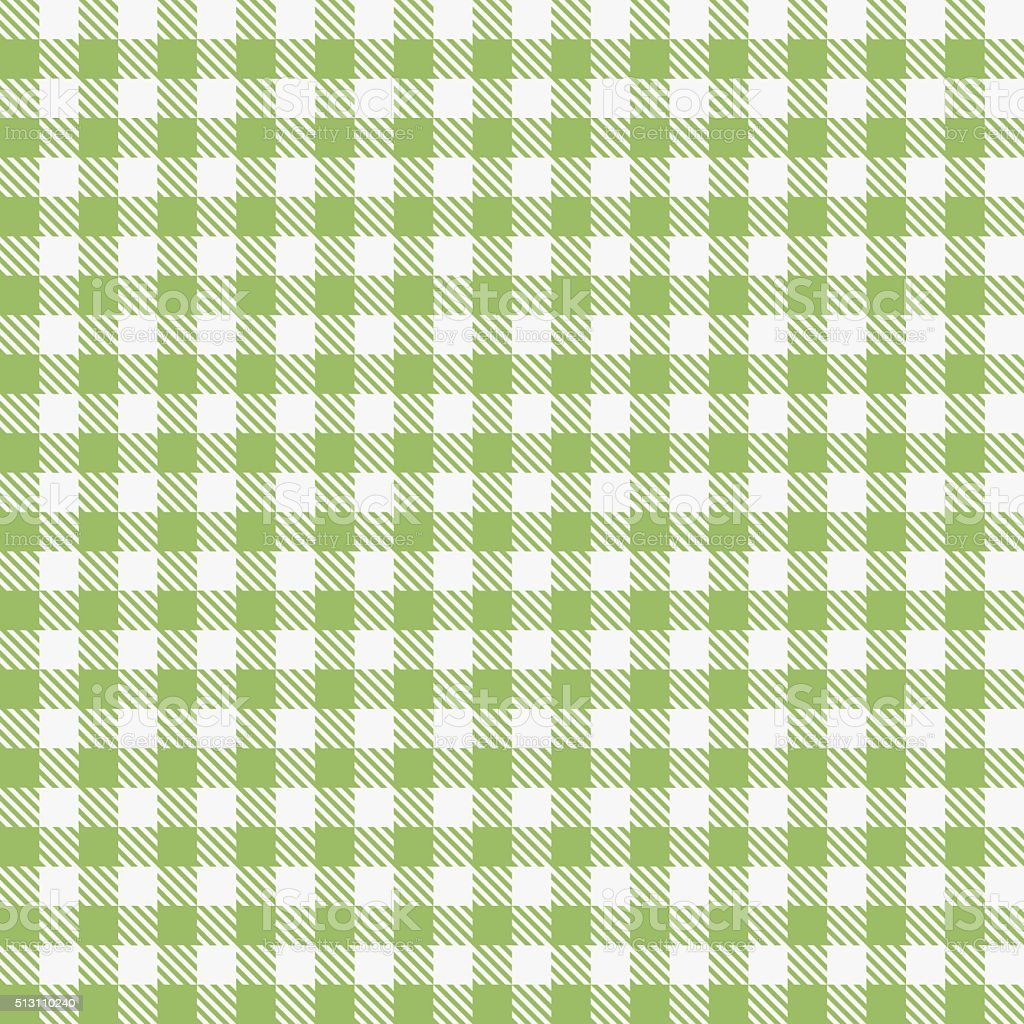 Green Checkered Tablecloths Pattern Royalty Free Stock Vector Art