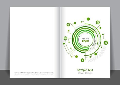 Green Circle Cover design