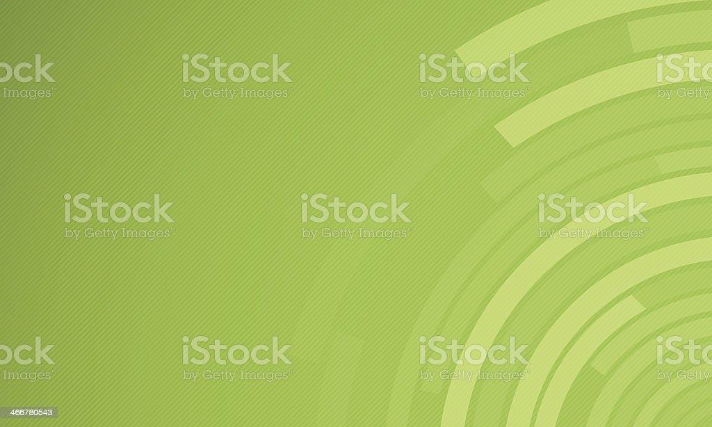 Green Circles Background vector art illustration