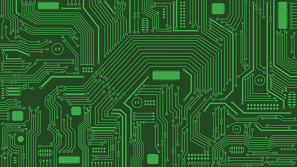 Tree Design On Circuit Board Wallpaper Vector Image: Royalty Free Motherboard Clip Art, Vector Images