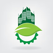 green city concept. eps 10 vector file