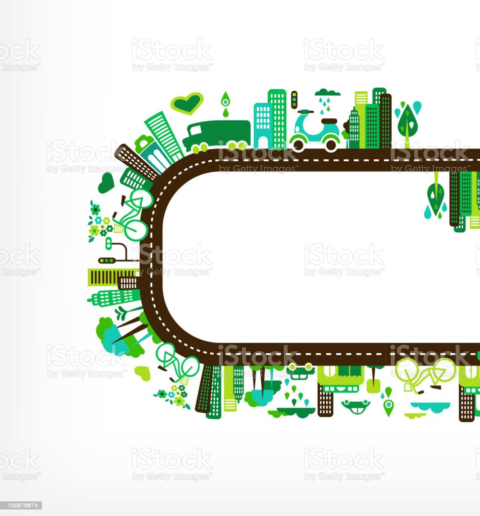green city - environment and ecology royalty-free green city environment and ecology stock vector art & more images of abstract