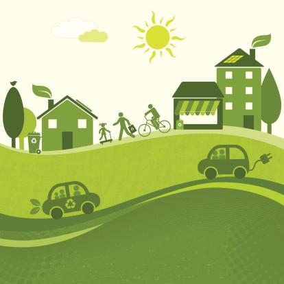 Green City Landscape (GreenWorld Series)